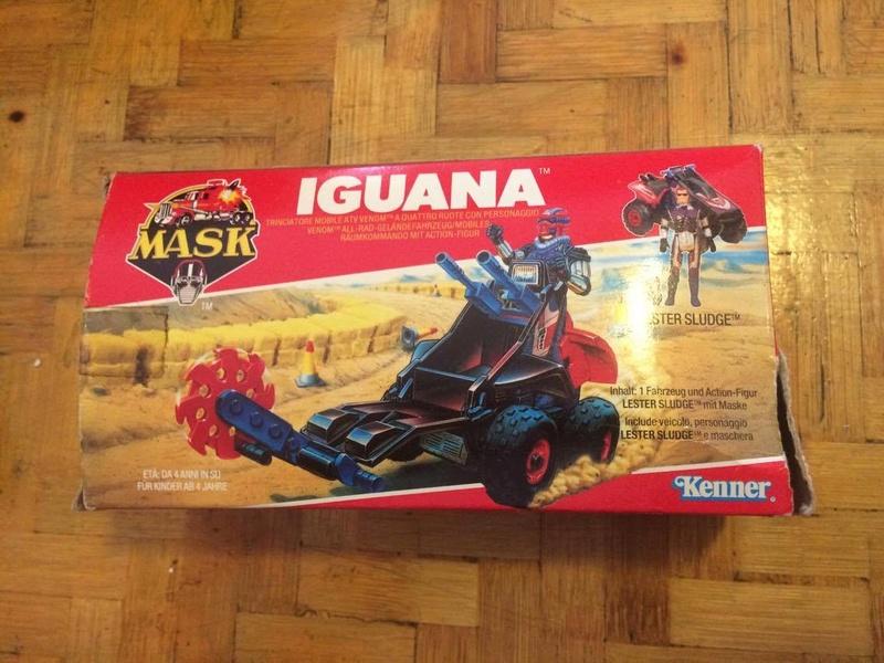 Mask - Iguana Kenner 21844110