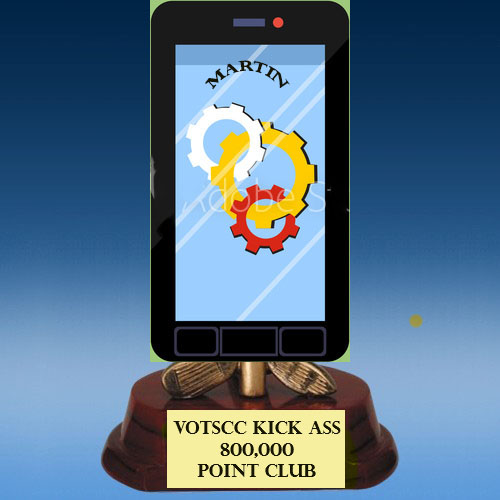 800,000 POINT CLUB MEMBERS Mobile10