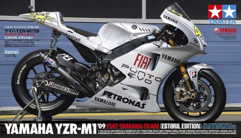 YAMAHA M1 2009 ESTORIL EDITION TAMIYA 1/12 Tamiya11