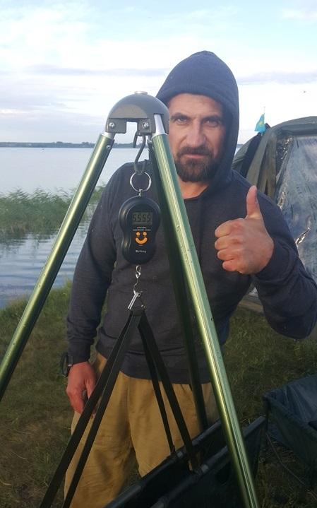 Кубок Курганской области по ловле карпа 20170710