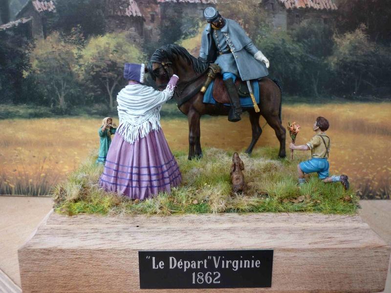 """""""Le départ""""  Virginie 1862 P1090014"""