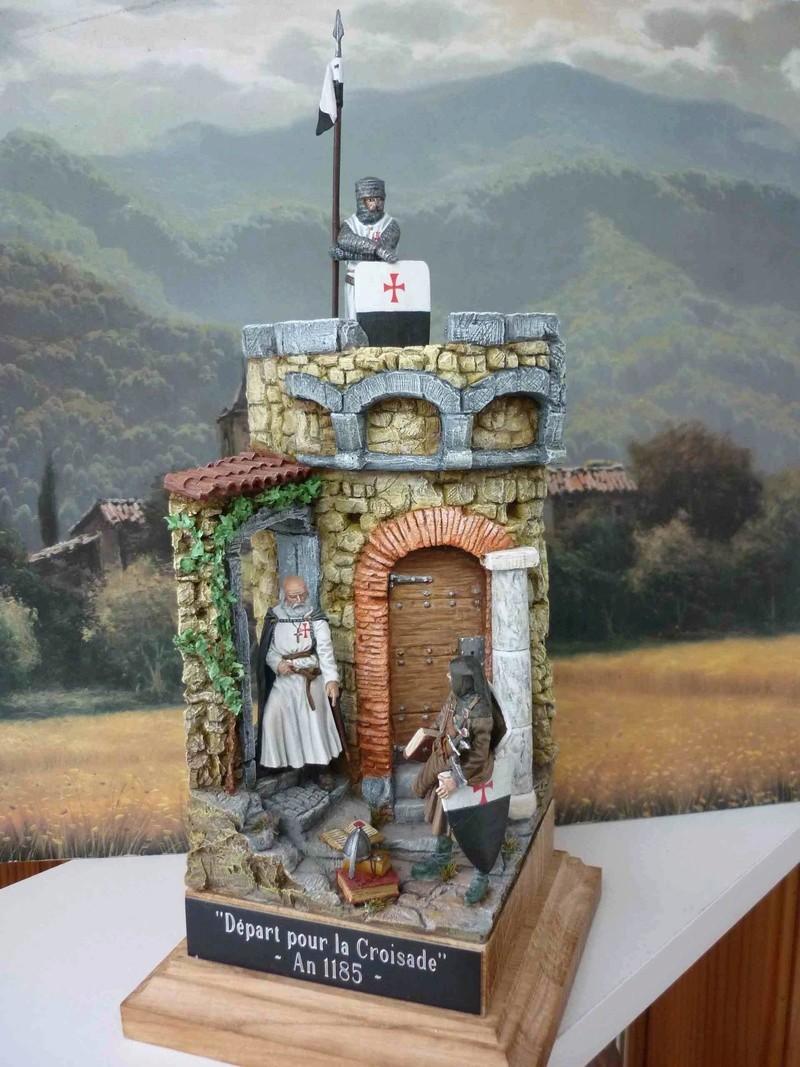 Départ pour la croisade -  An 1185 P1090221
