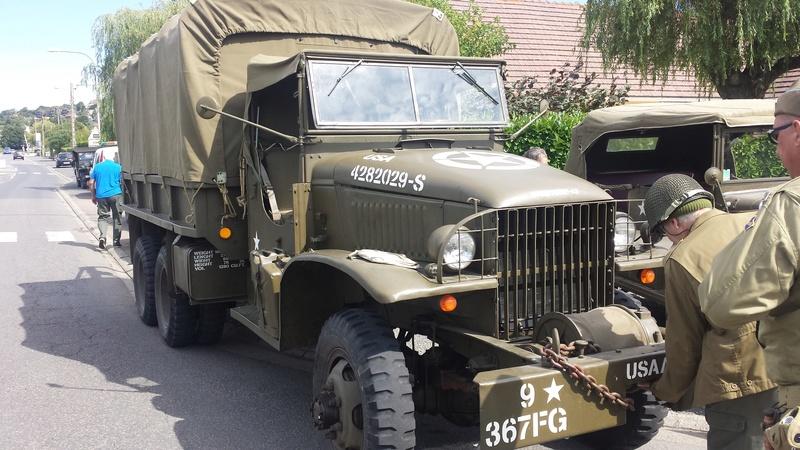 Brigade Piron et véhicules US 2017-130