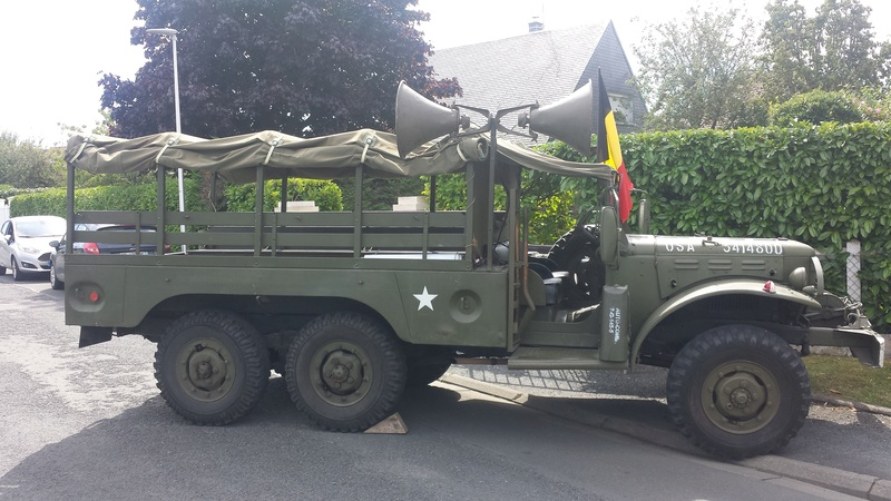 Brigade Piron et véhicules US 2017-132