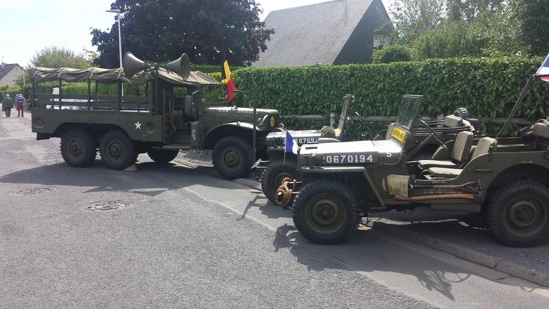 Brigade Piron et véhicules US 2017-134