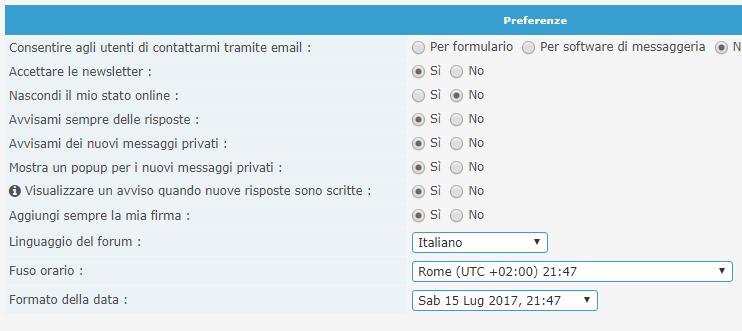 ora del forum Orario10