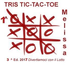 Vincitrici Gara TRIS 2017 MELISSA-GIOIETTA-LORY Tris2010