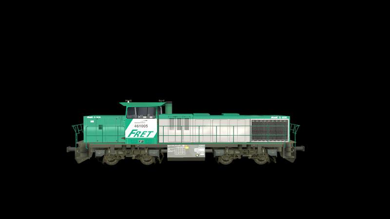 Locomotives Vossloh Giraud59