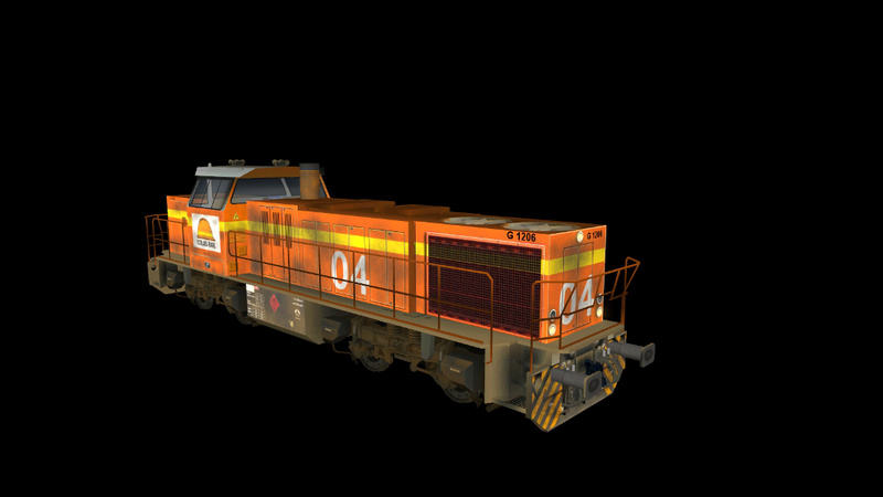 Locomotives Vossloh Giraud60