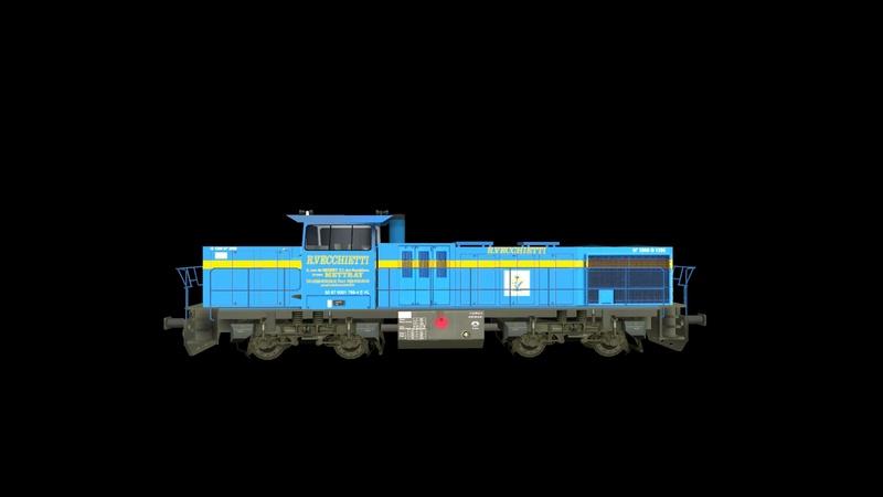 Locomotives Vossloh Giraud61