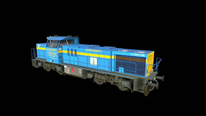 Locomotives Vossloh Giraud62