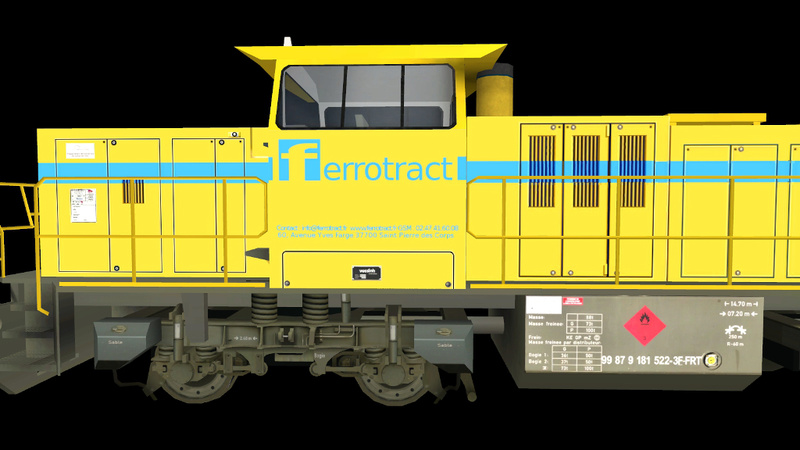 Locomotives Vossloh Giraud65