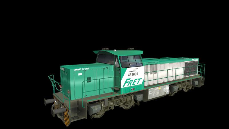 Locomotives Vossloh Giraud66