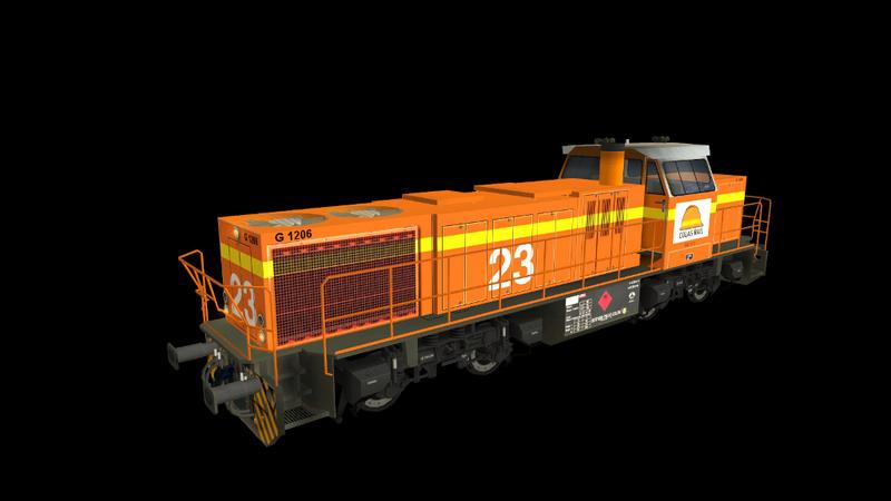 Locomotives Vossloh Giraud67