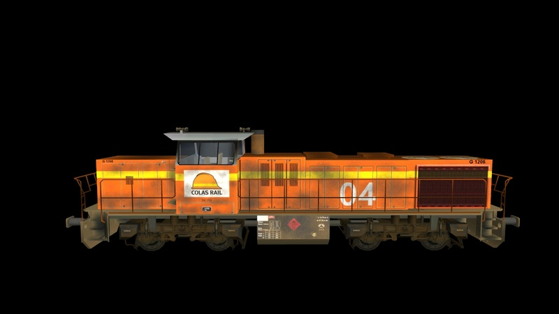 Locomotives Vossloh Giraud68