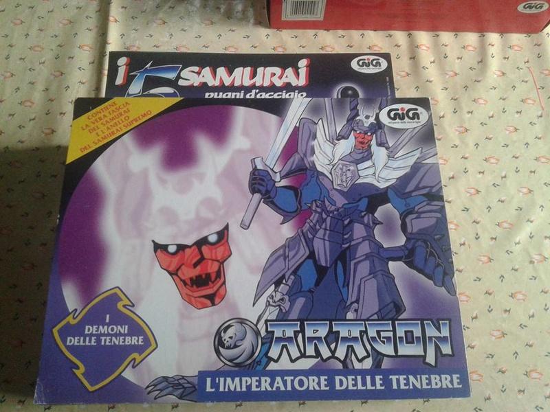samurai - vendo collezione (quasi) completa 5 samurai gig Arago_10