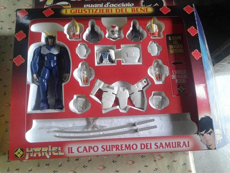 samurai - vendo collezione (quasi) completa 5 samurai gig Brilia10