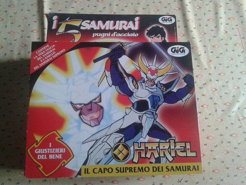 samurai - vendo collezione (quasi) completa 5 samurai gig Brilli10