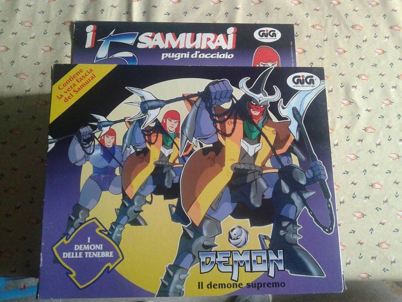 samurai - vendo collezione (quasi) completa 5 samurai gig Demon_10