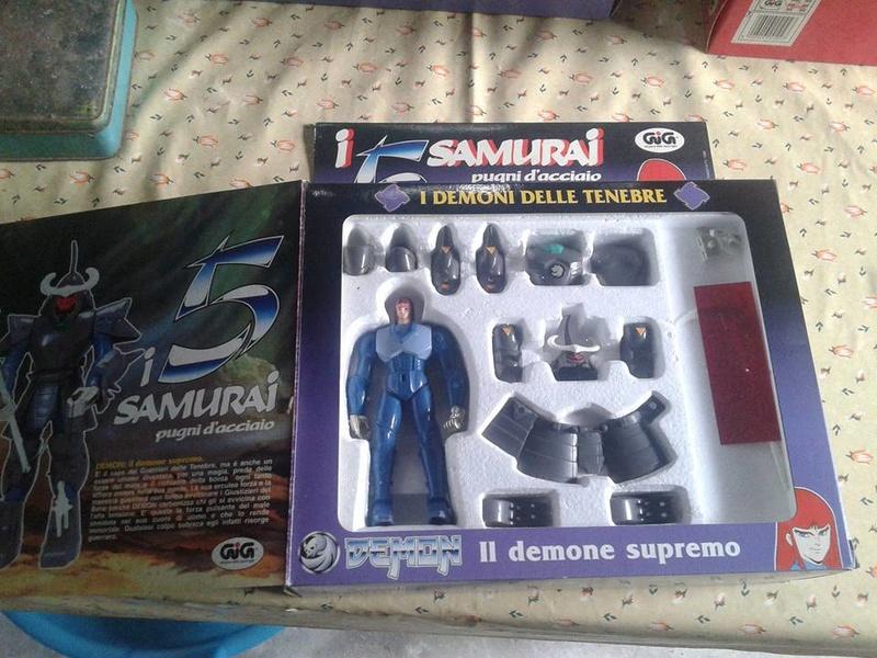 samurai - vendo collezione (quasi) completa 5 samurai gig Demon_11