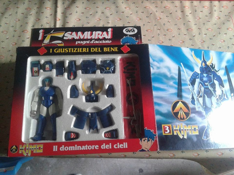 samurai - vendo collezione (quasi) completa 5 samurai gig Kimo_210