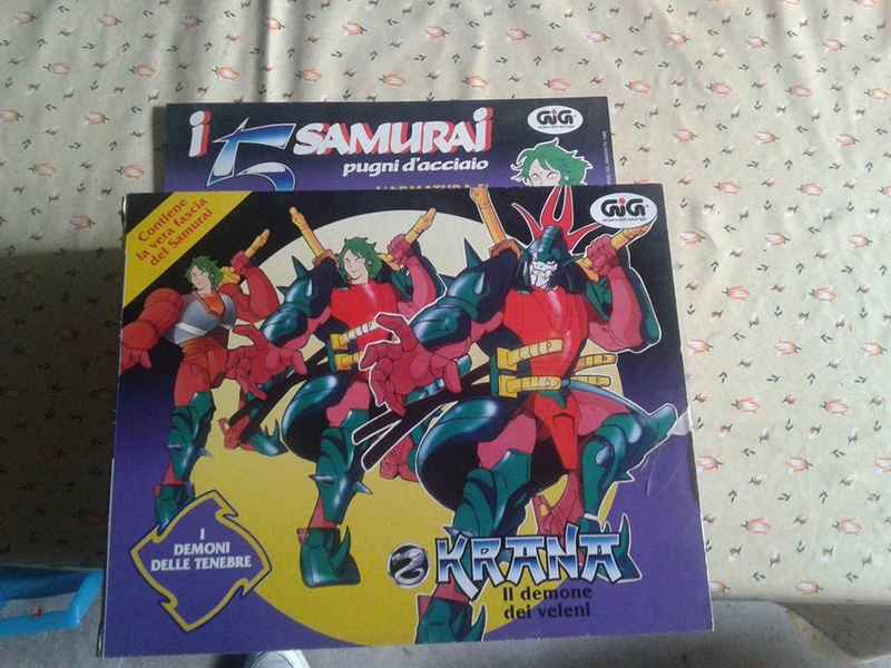 samurai - vendo collezione (quasi) completa 5 samurai gig Krana_10