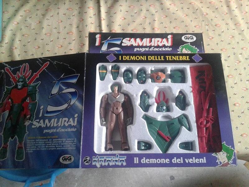 samurai - vendo collezione (quasi) completa 5 samurai gig Krana_11