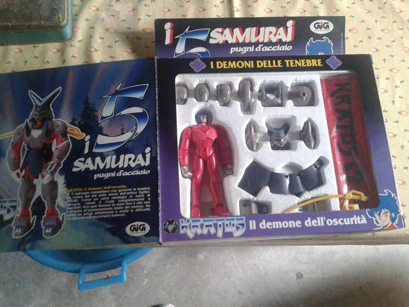 samurai - vendo collezione (quasi) completa 5 samurai gig Kratos11