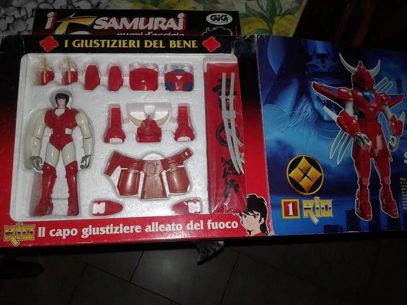 samurai - vendo collezione (quasi) completa 5 samurai gig Ryo210