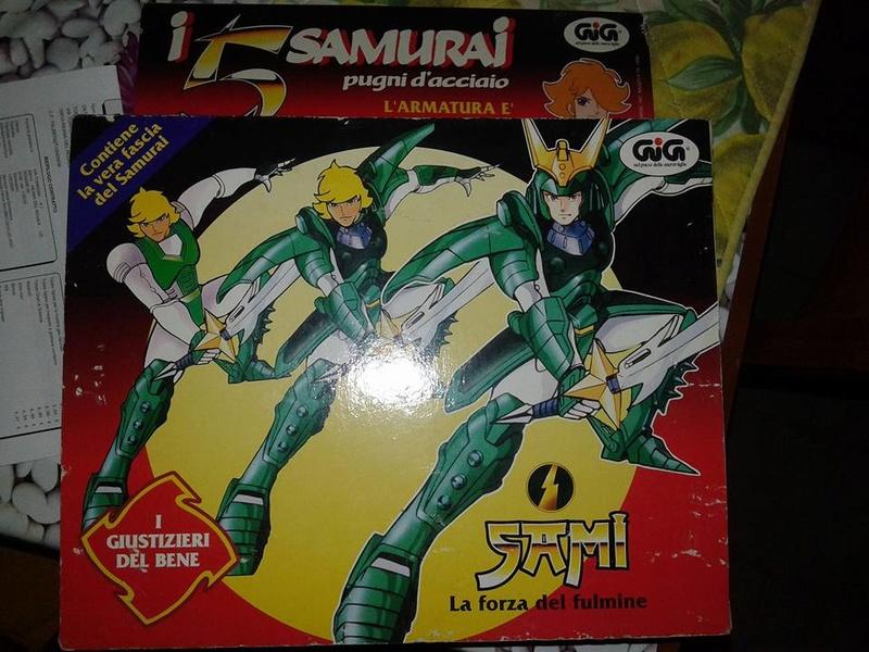 samurai - vendo collezione (quasi) completa 5 samurai gig Sami10
