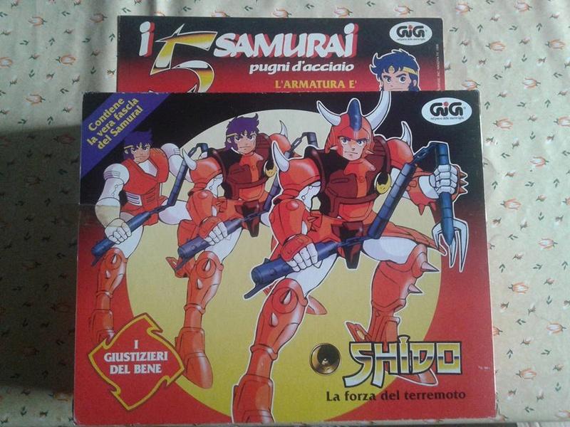 samurai - vendo collezione (quasi) completa 5 samurai gig Shido_10