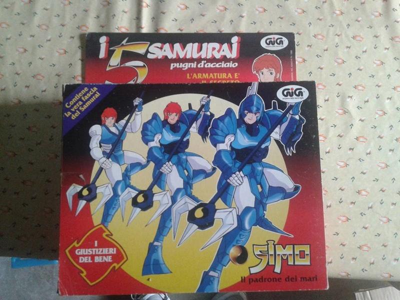 samurai - vendo collezione (quasi) completa 5 samurai gig Simo110