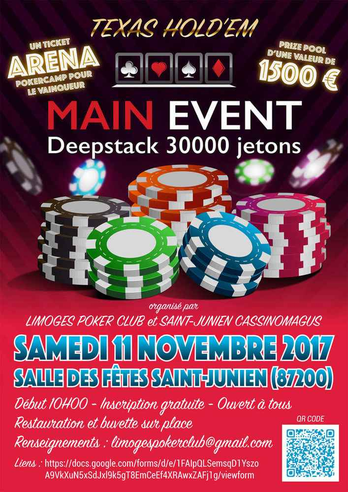 Main Event LPC / Saint Junien (87) - 11 novembre 2017 Affich10