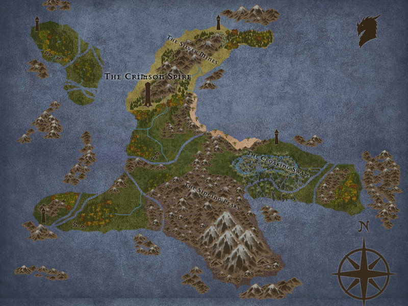 Maps of the Ebonwing Isles  Agnus10