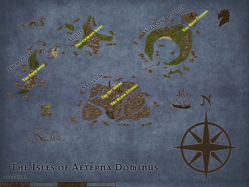 Maps of the Ebonwing Isles  Overvi10