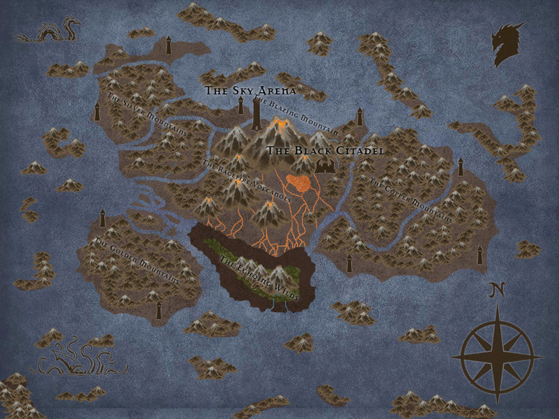 Maps of the Ebonwing Isles  Saeclu10