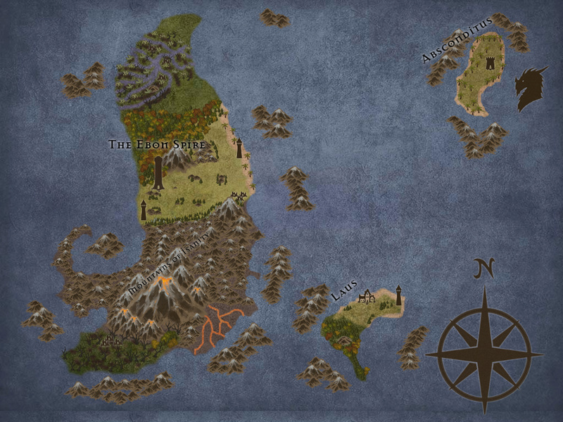 Maps of the Ebonwing Isles  Tremen10