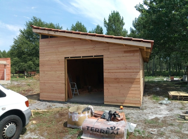 Atelier 50m² ossature bois - Page 4 P7071710
