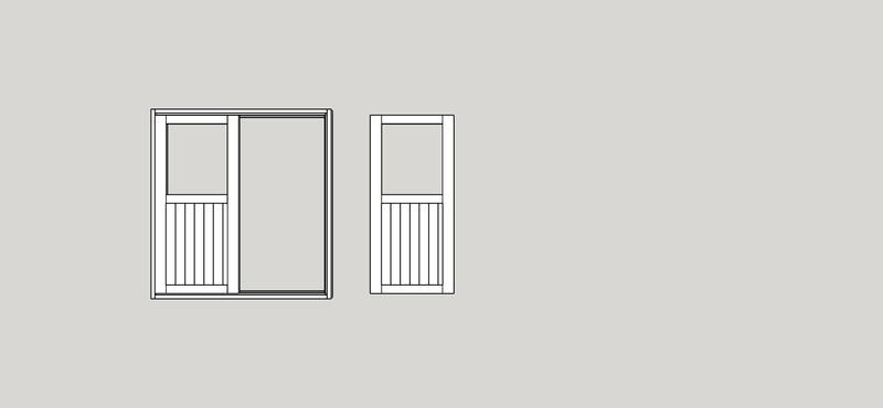 Atelier 50m² ossature bois - Page 4 Portes10