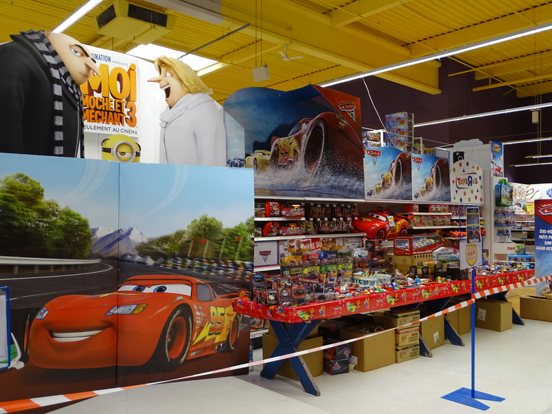 Expostion Cars Toys R Us P1910