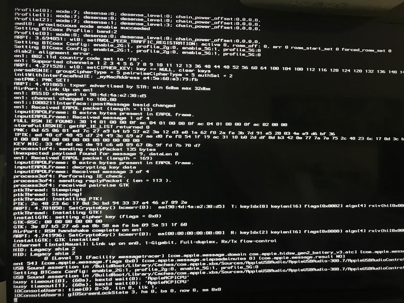 Panic kernel aprés changement de carte graphique Img_6310