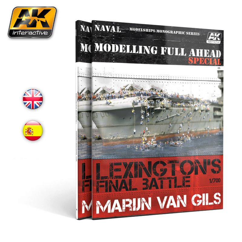Bataille finale du LEXINGTON - livre AK Interactive Ak667110