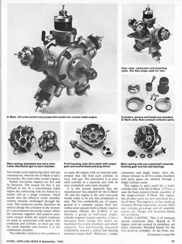G-Mark 5 Cylinder Radial .030 Man09815