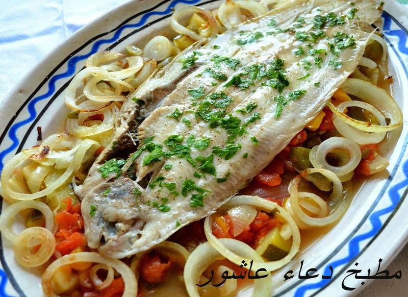 صينية سمك موسى بالبطاطس Eaoa_o13