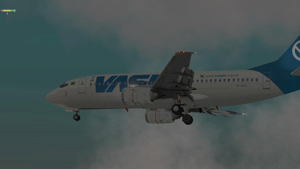 Corujão, LON-CTB-POA a bordo do IXEG 1410