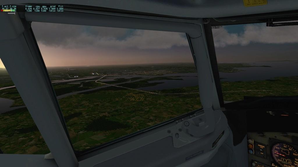 Corujão, LON-CTB-POA a bordo do IXEG 510