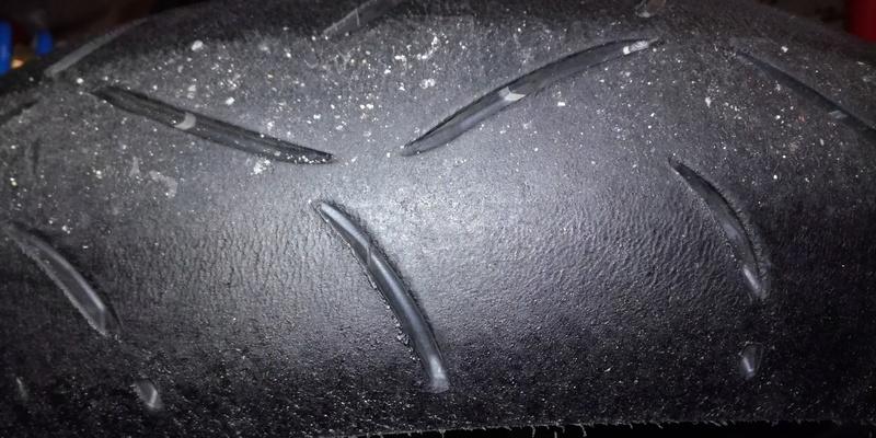 réglages et usure pneu piste 0210