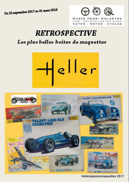 Rétrospective Heller au musée de l'automobile de Lyon Rochetaillée sur Saône  Captur12