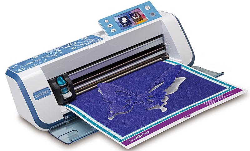 ScanNCut, maquina de corte y scaner domestica Scannc10