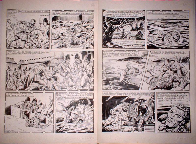 Il re di Cuenca verde (Segna) - Il ritorno di Liberty Sam (Capone) - storie inedite - Pagina 3 19956910